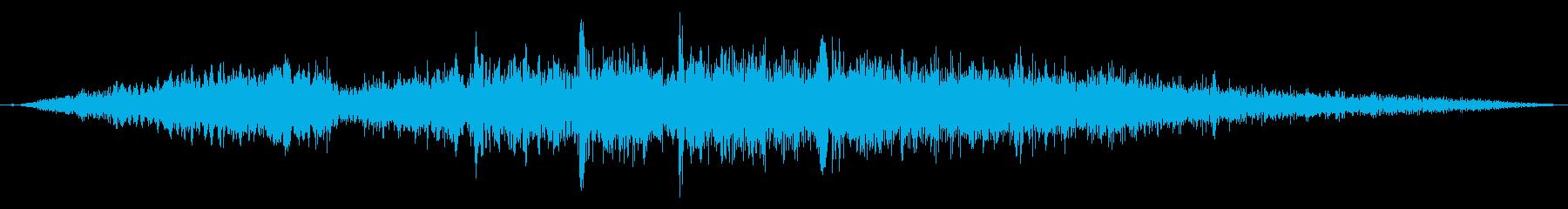 【F1】超ド迫力のF1エンジン効果音8!の再生済みの波形