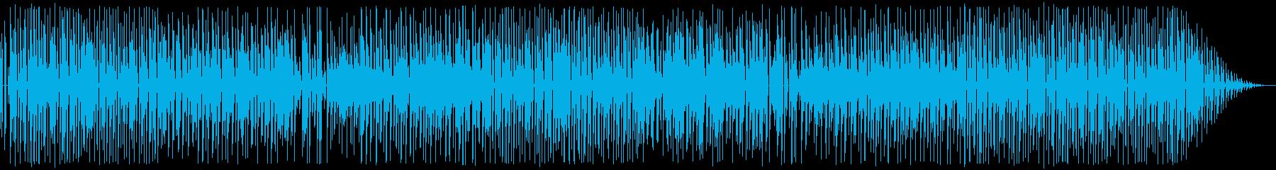 カンフー・中華風・8bitレトロゲームの再生済みの波形