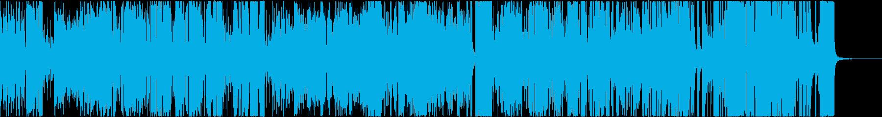 テーマ曲風ビッグバンド _前奏短いの再生済みの波形