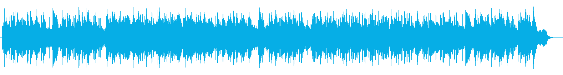 A gentle and gentle piano ballad's reproduced waveform