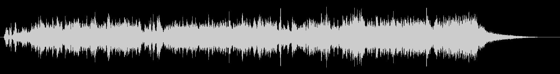 さばをテーマにした楽曲の未再生の波形