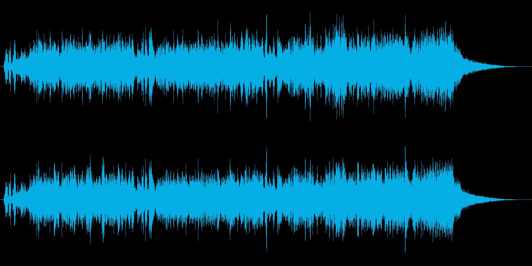 さばをテーマにした楽曲の再生済みの波形