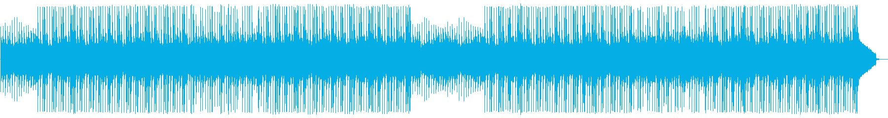 [Without percussion] Agriculture, fields, and heartwarming BGM's reproduced waveform