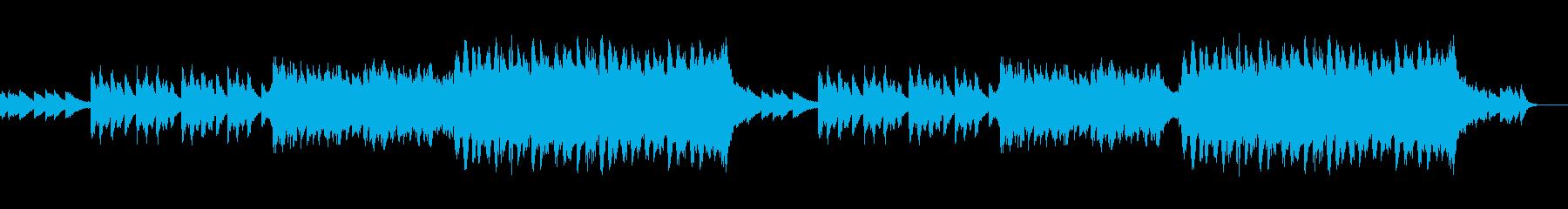 企業VRやCMなどに。ビシッとした曲ですの再生済みの波形