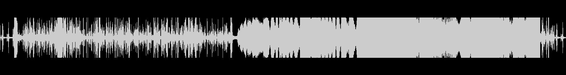 FMラジオの検索の未再生の波形