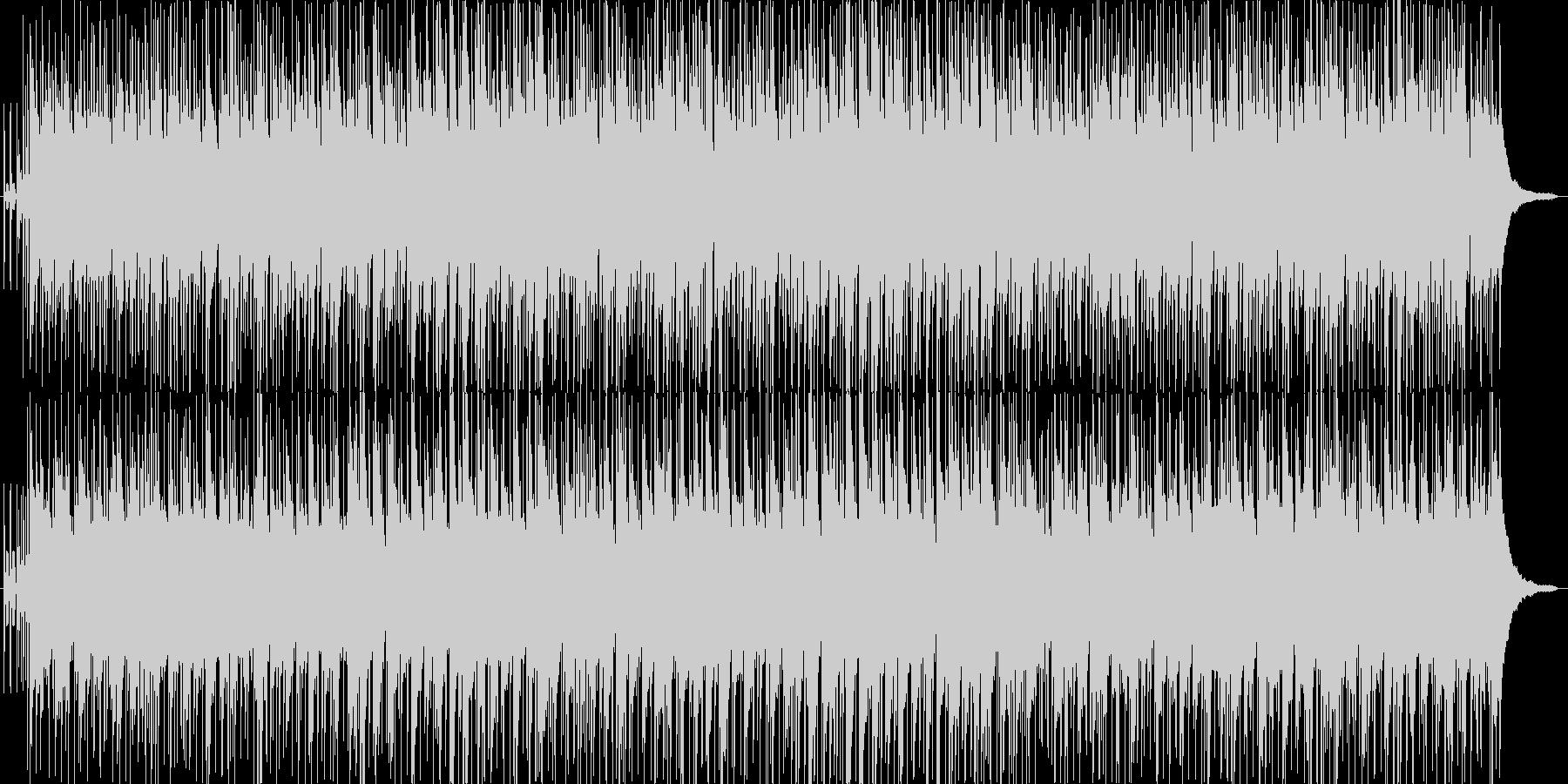 たそがれ時をイメージしたインストの未再生の波形