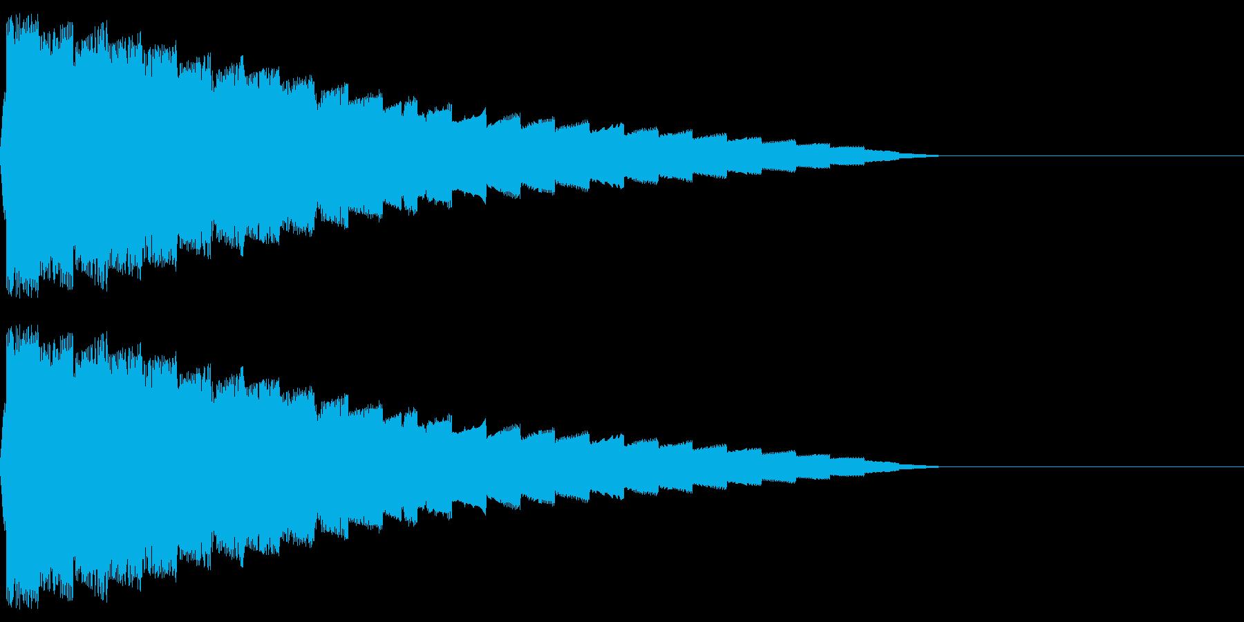 ピロロロ♪(ワープ/宇宙/ファミコンSFの再生済みの波形
