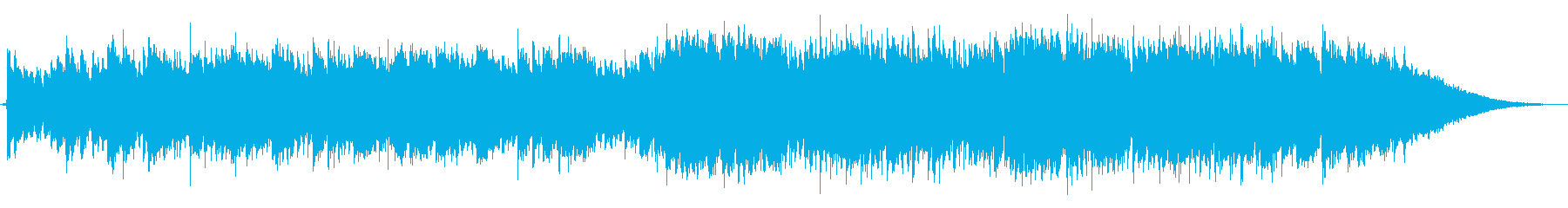 CM・情熱的なフラメンコEDMの再生済みの波形