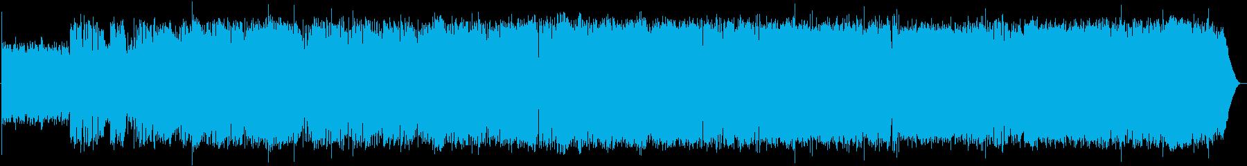 英語洋楽:後期ビートルズ・屋上演奏R&Rの再生済みの波形