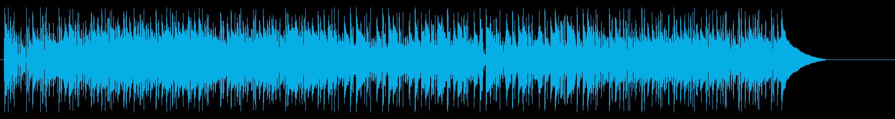アコーディオンによるおしゃれな昼下がりの再生済みの波形