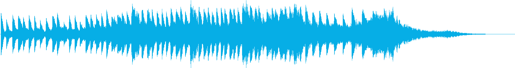 テンションビルダーズ不気味なピアノの再生済みの波形