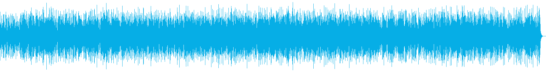 場の雰囲気を損なうことのないBGMの再生済みの波形