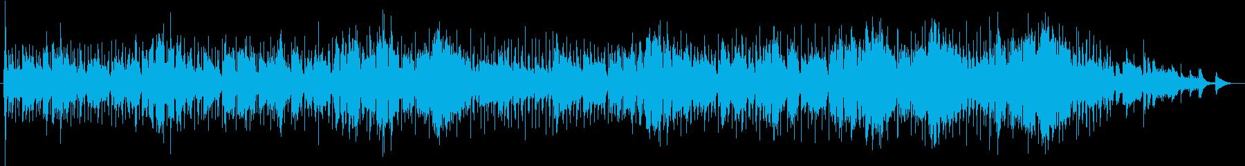 甘く懐かしい思い出のロッカバラードの再生済みの波形