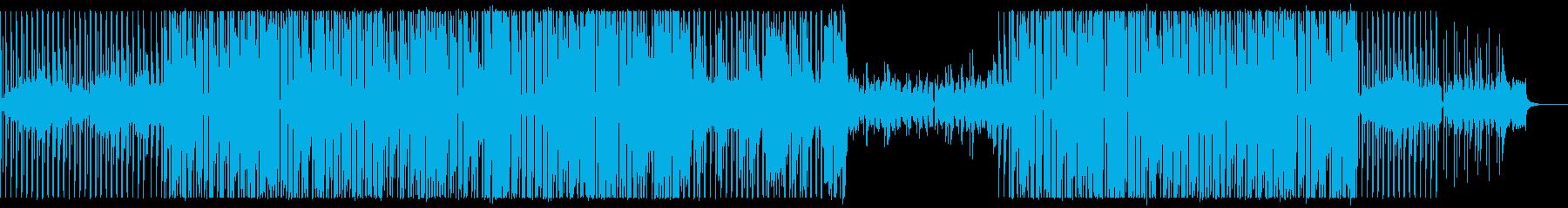 【ハウスミュージック】テンポよくノリノリの再生済みの波形