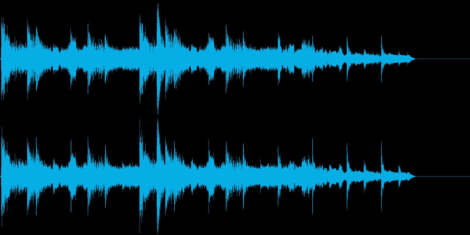 アジアンジングル、ロゴの再生済みの波形