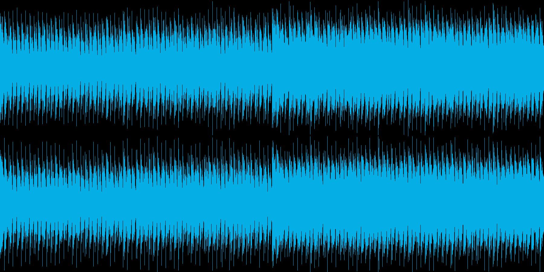 勢いのあるシンセメロが特徴のクラブダンスの再生済みの波形