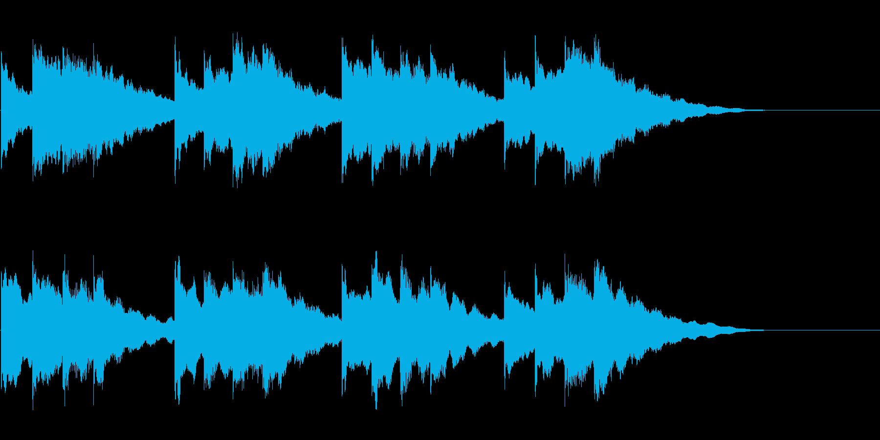 学校のチャイム-1_revの再生済みの波形