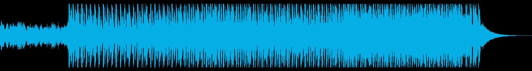 ダンス用(60秒)の再生済みの波形