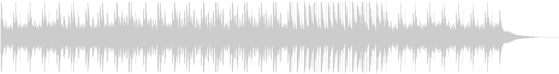 Japanese-style BGM of Japanese drums and sho (daily / comical)'s unreproduced waveform