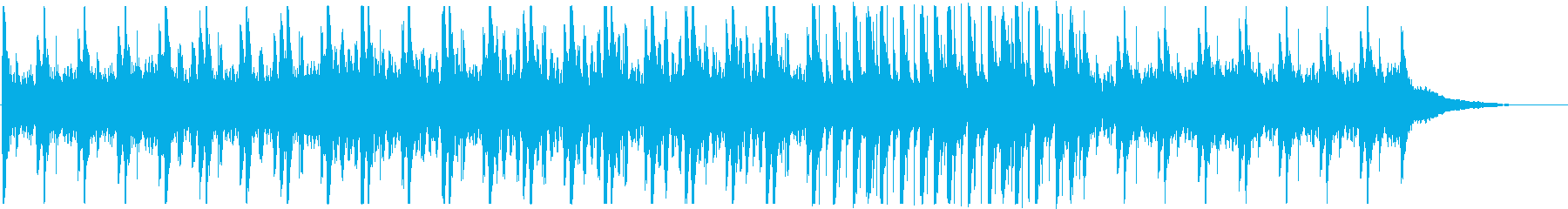 Japanese-style BGM of Japanese drums and sho (daily / comical)'s reproduced waveform