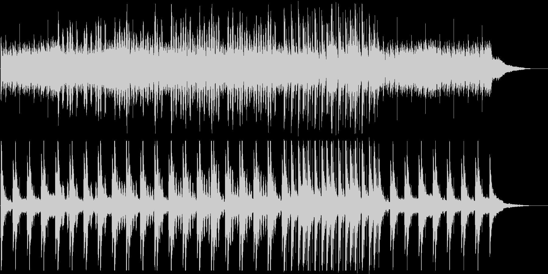 和太鼓と笙の和風BGM(日常・コミカル)の未再生の波形
