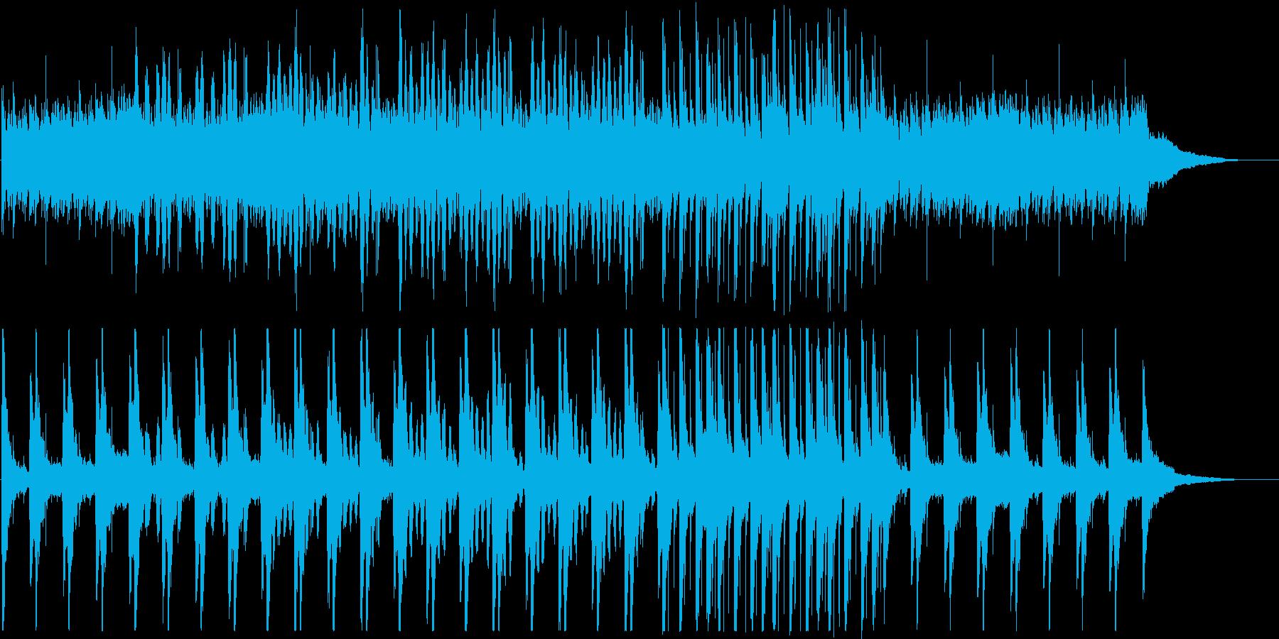 和太鼓と笙の和風BGM(日常・コミカル)の再生済みの波形