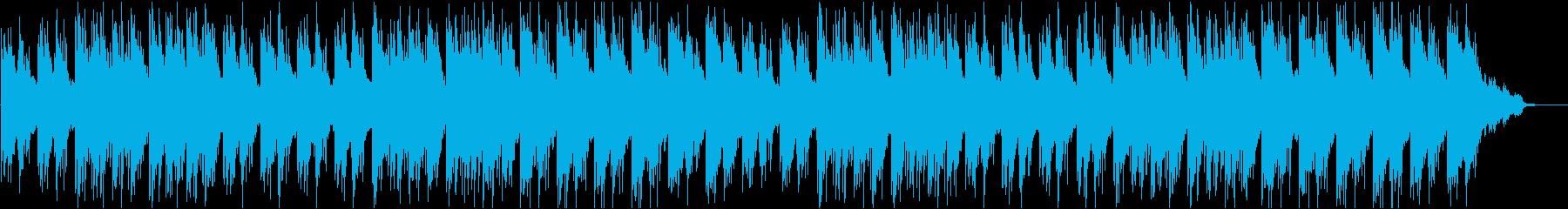 水族館や水中映像に合うヒーリングBGMの再生済みの波形