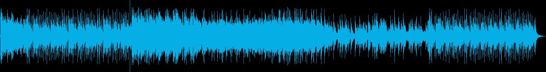 ピアノとアップライトベースをフィー...の再生済みの波形