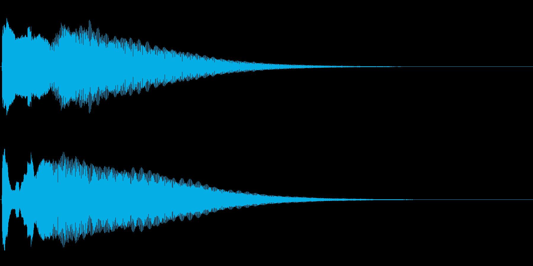 アナウンス後 チャイム-1_rev-1の再生済みの波形