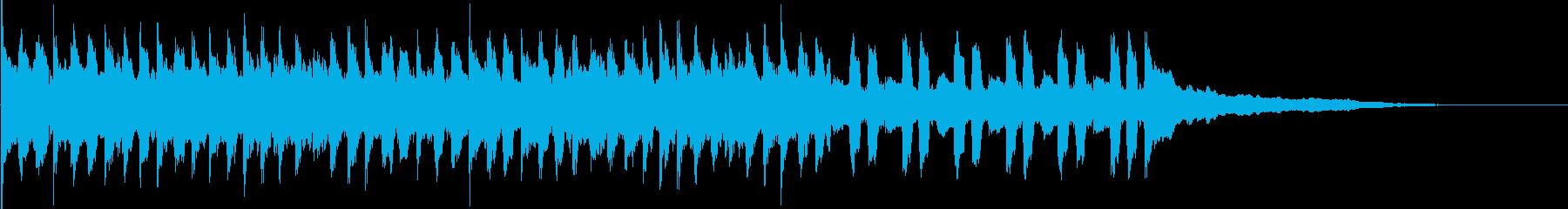 ワルツ・結婚・バレンタイン・ホワイトデーの再生済みの波形