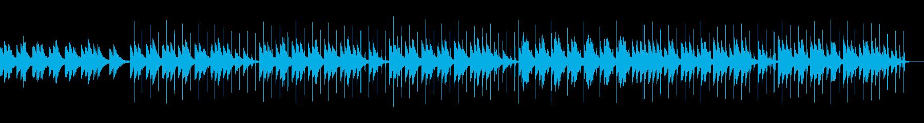 KANT爽やかまったりBGMの再生済みの波形