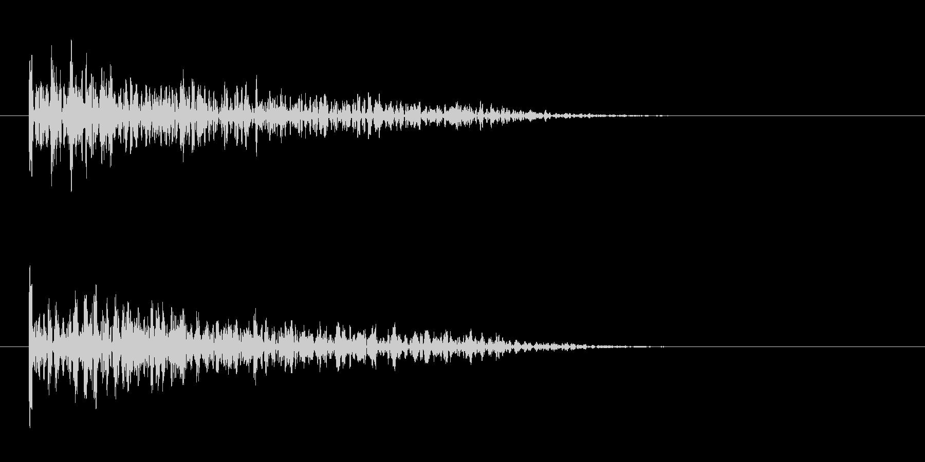 Impact Drum Dull ...の未再生の波形