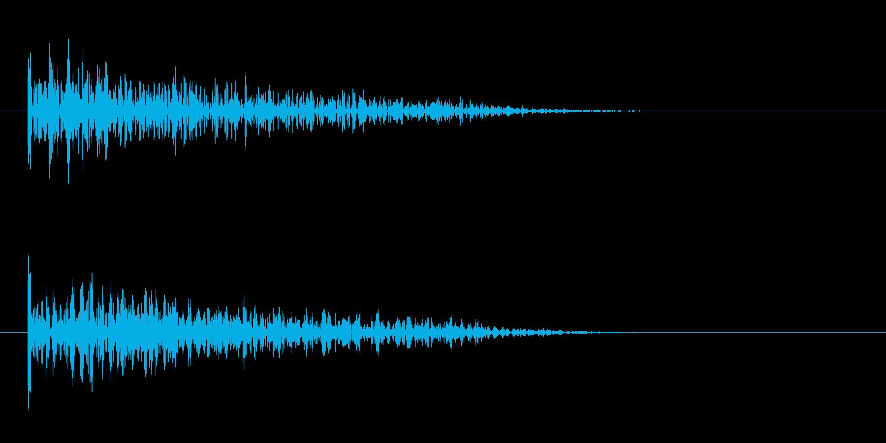 Impact Drum Dull ...の再生済みの波形