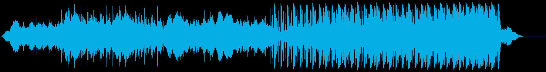 サスペンスの再生済みの波形