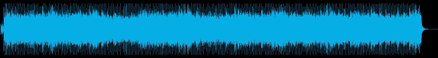 疾走感と壮大さのロックオーケストラBGMの再生済みの波形