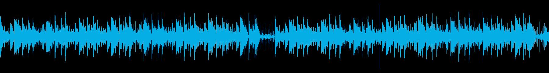 ドッキリYouTubeかわいいループの再生済みの波形