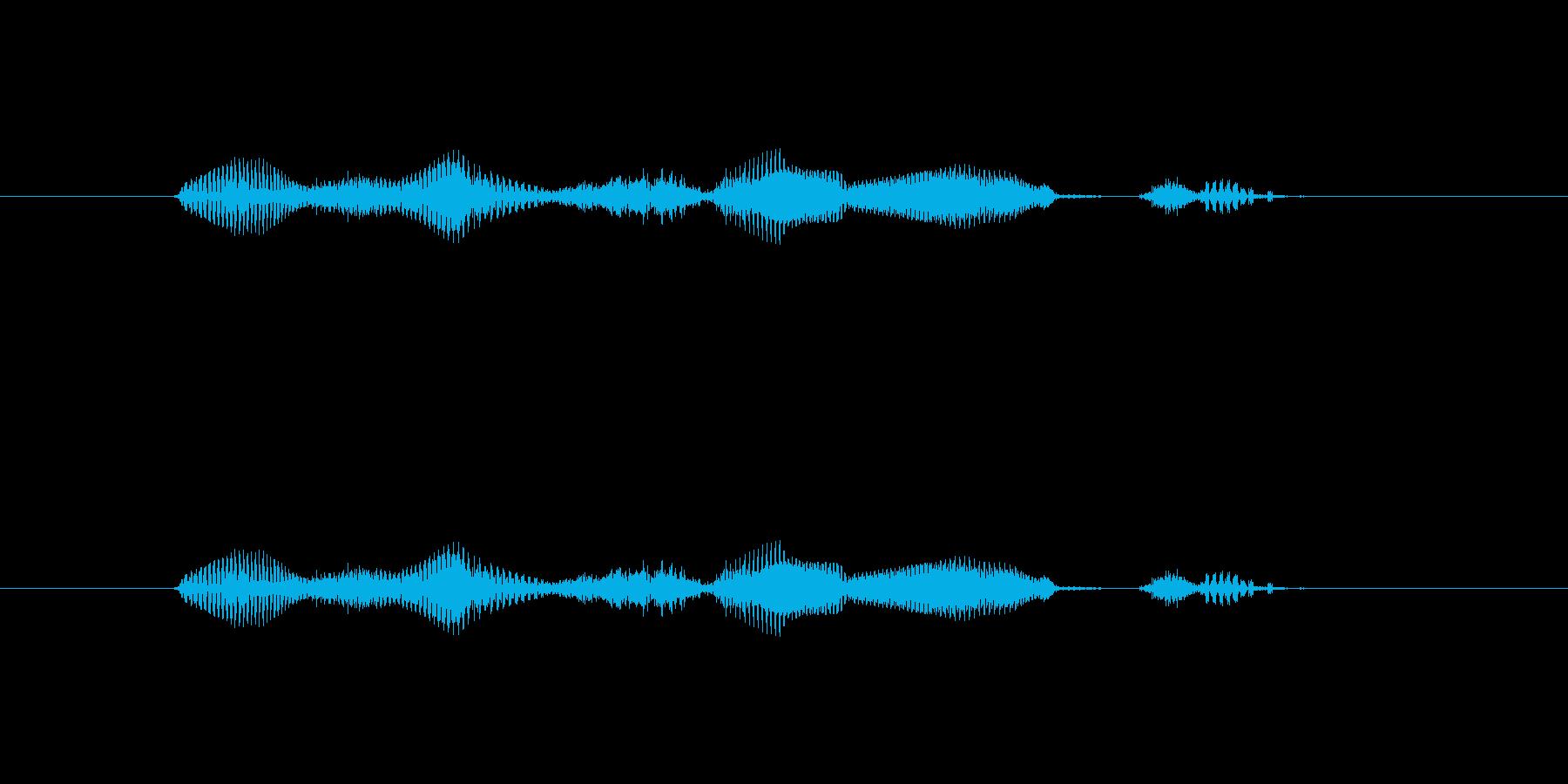 【日】23日の再生済みの波形