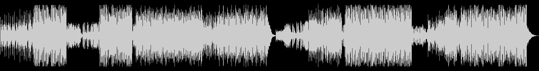 トロピカルハウスをイメージしたEDMの未再生の波形
