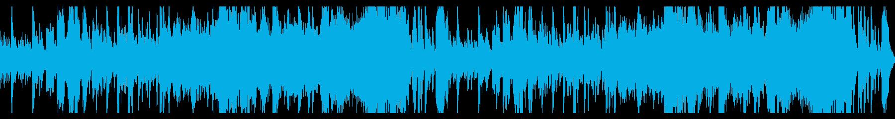 【ファンタジー】暗く落ち着いたワルツの再生済みの波形