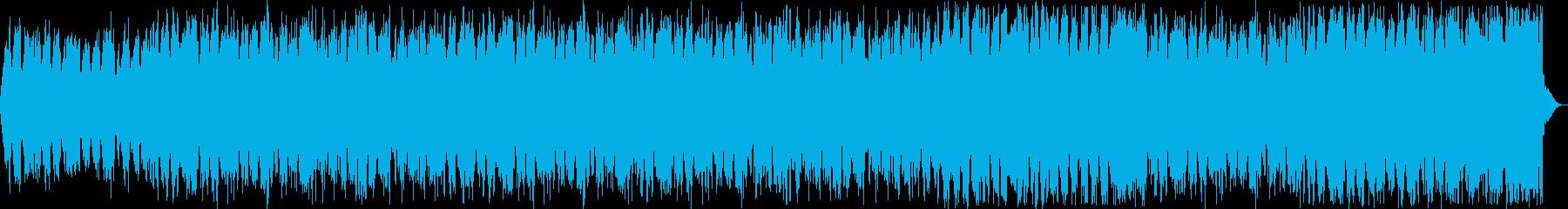 神聖な印象のストリングスサウンドの再生済みの波形