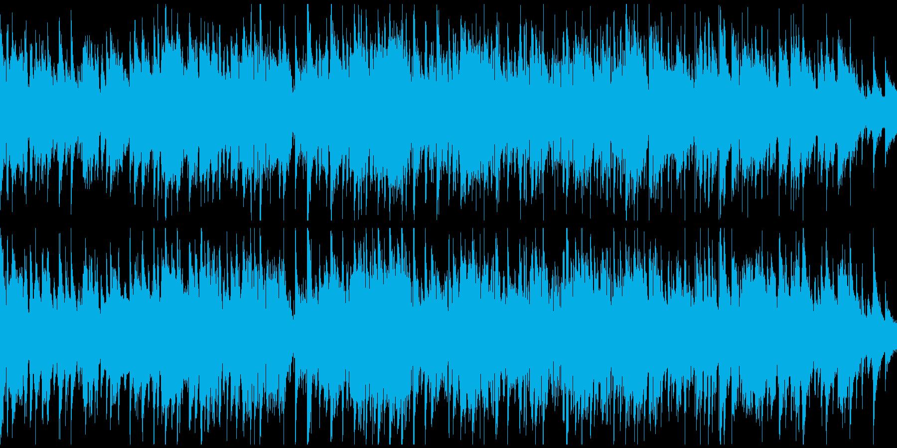 素敵で軽快なジャズ・ワルツ ※ループ版の再生済みの波形