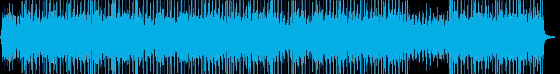 さわやか・ウキウキした気分・ピアノの再生済みの波形