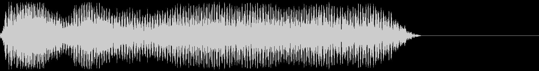 サッカーのホイッスル、警笛(ファウル1)の未再生の波形