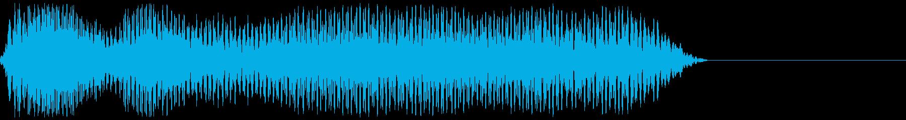 サッカーのホイッスル、警笛(ファウル1)の再生済みの波形