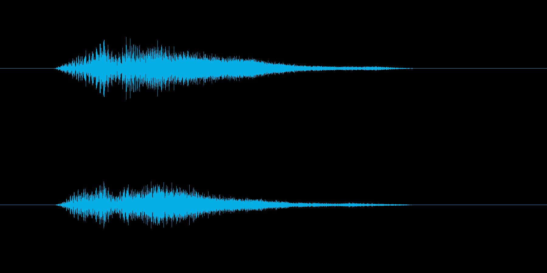 テロップの音・決定音・トルルルーンの再生済みの波形