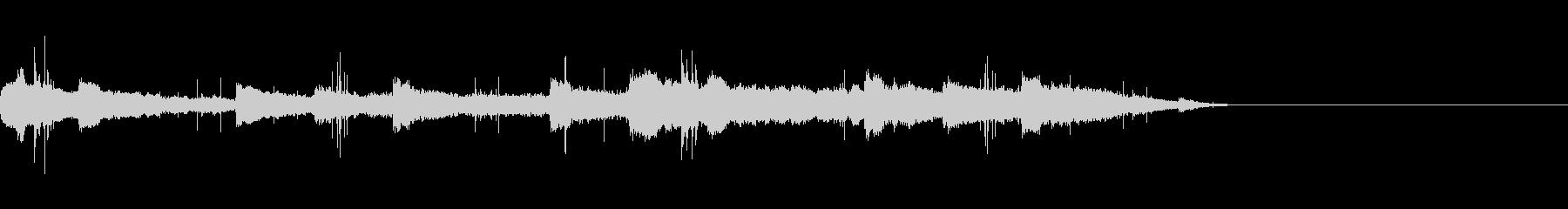 12秒 古いレコードのヴィオラとピアノの未再生の波形