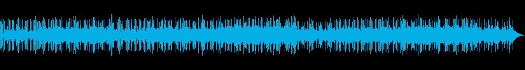 インディーポップロック・海外・スピード感の再生済みの波形