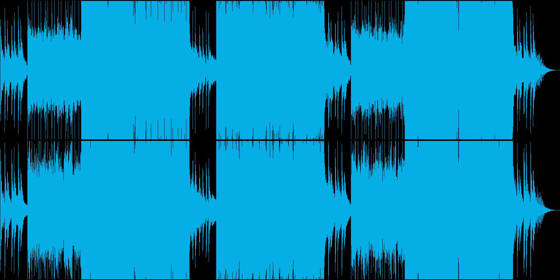 映像用切なく静かなFutureBassの再生済みの波形