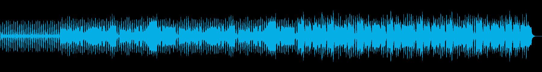 ほのぼのこぢんまりしたクラリネットメインの再生済みの波形