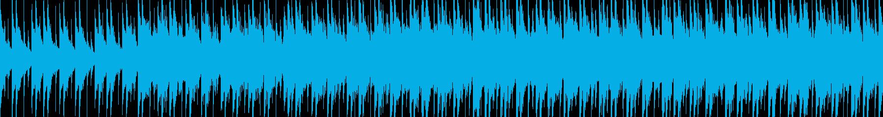 妖艶かつ哀愁漂う和風曲(ループ)ですの再生済みの波形
